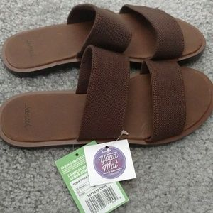 1f70cf65971 Sanuk Sandals Womens Brown Size 5 NWT
